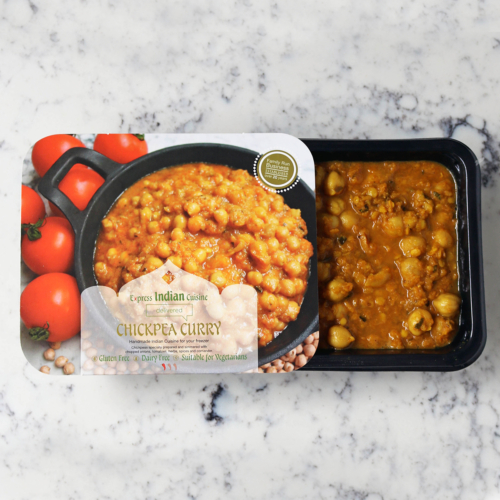 Chickpea Curry-Indian Food